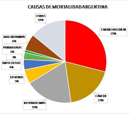Fuente: elaboración propia en base a datos del Instituto Nacional del Cáncer (INC). Argentina, 2017.