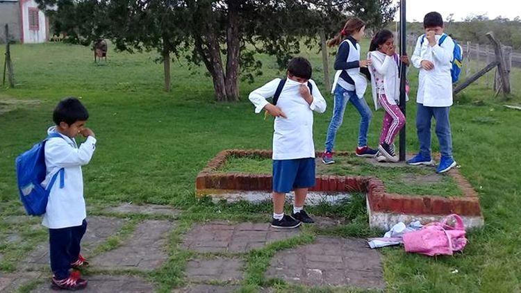 """escuela rural Nº 110 """"Batalla de Don Gonzalo"""" de Entre Ríos fumigada en septiembre de 2018"""