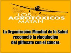 Sociedad Argentina de Pediatría y OMS reconocen que los fitosanitarios son AGROTÓXICOS