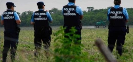 policia fumiga